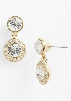 Givenchy Pavé Drop Earrings