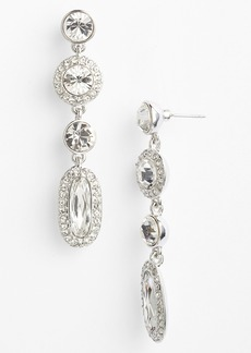 Givenchy Pavé Linear Earrings