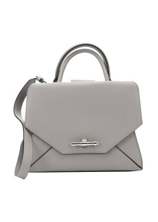 Givenchy pearl grey leather small 'Obsedia' convertible tote bag