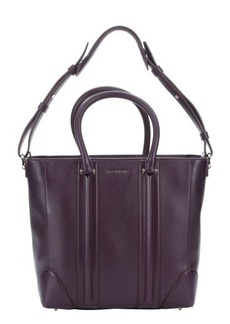 Givenchy plum leather 'Lucrezia' convertible medium tote bag
