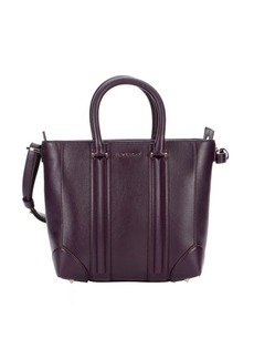 Givenchy purple leather 'Lucrezia' convertible mini tote bag