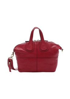 Givenchy red lambskin small 'Nightingale' convertible satchel