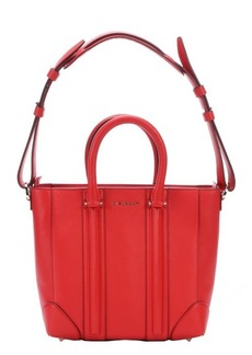 Givenchy red leather 'Lucrezia' convertible mini tote bag