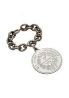 Givenchy Ruthenium Large Medallion Bracelet