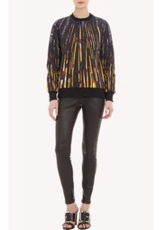 Givenchy Sequin-Print Sweatshirt