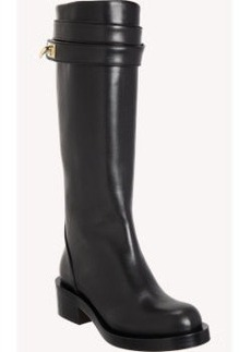 Givenchy Shark Tooth Knee Boots
