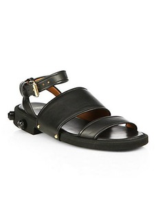 Givenchy Show Studded Leather Sandals