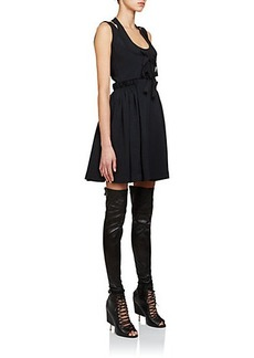 Givenchy Silk Jacquard Corset Dress
