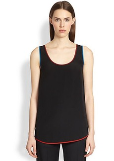 Givenchy Silk Multi-Trim Tank