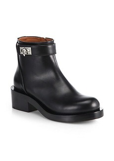 Givenchy Silvia Leather Ankle Boots