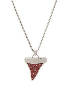 Givenchy Small Shark Tooth Pendant Necklace