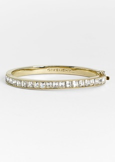 Givenchy Square Crystal Hinge Bangle