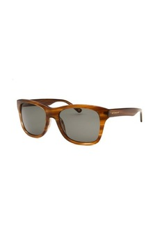 Givenchy Square Striped Light Brown Sunglasses
