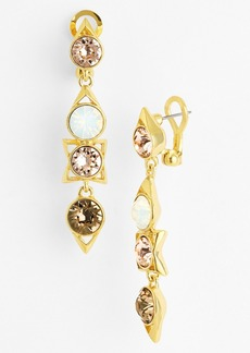 Givenchy Stone Linear Earrings