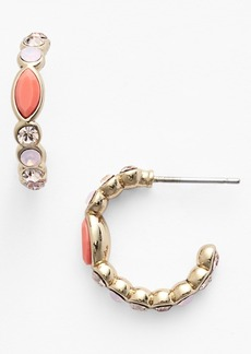 Givenchy Stone Small Hoop Earrings (Nordstrom Exclusive)