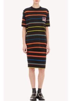 Givenchy Stripe Knit & Jacquard Sweatshirt