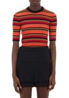 Givenchy Stripe Rib-Knit Top
