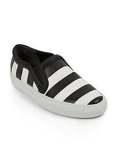 Givenchy Striped Leather Skate Sneakers