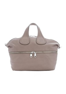 Givenchy taupe calfskin 'Nightingale' medium convertible tote