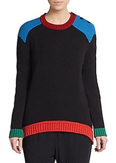 Givenchy Tricolor Oversized Sweater