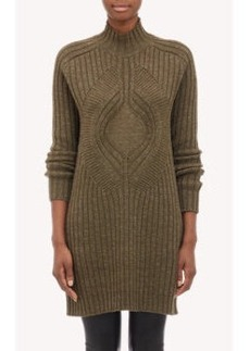 Givenchy Turtleneck Sweater Dress