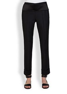 Givenchy Tuxedo Slim Pants