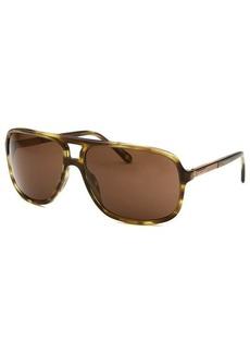 Givenchy Women's Aviator Olive Havana Sunglasses