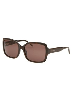 Givenchy Women's Butterfly Havana Sunglasses