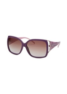 Givenchy Women's Oversized Purple Sunglasses