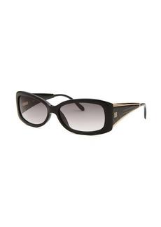 Givenchy Women's Rectangle Black Sunglasses