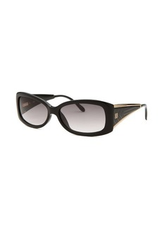 Givenchy Women's Rectangle Black Sunglasses