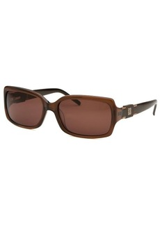 Givenchy Women's Rectangle Brown Sunglasses