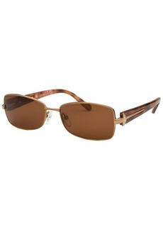 Givenchy Women's Rectangle Gold Tone Sunglasses