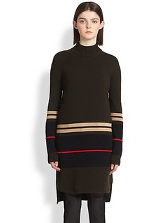 Givenchy Wool & Cashmere Turtleneck Tunic Sweater