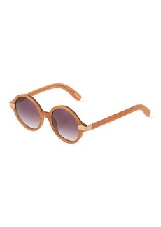 Givenchy Wooster Round Plastic Sunglasses
