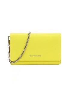 Givenchy yellow goatskin 'Pandora' convertible shoulder bag