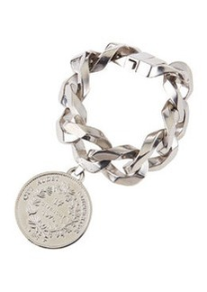 Silvertone Medallion Bracelet   Silvertone Medallion Bracelet