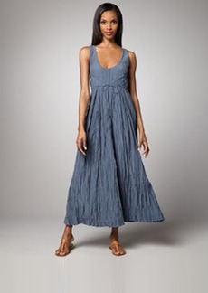 Go Silk Crinkled Maxi Dress