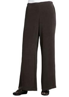 Go Silk Full-Leg Silk Pants, Petite