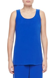 Go Silk Longer Silk Crepe Tank  Longer Silk Crepe Tank