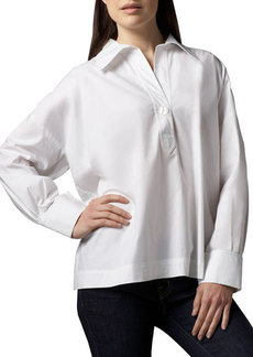 Go Silk Oversize Stretch Shirt