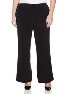 Go Silk Plus Full-Leg Silk Pants