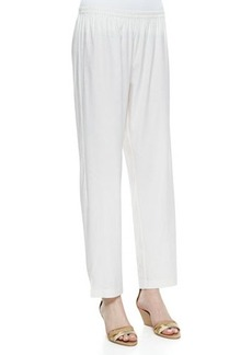 Go Silk Plus Linen Slim Pants