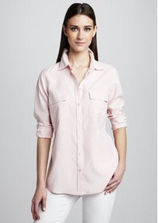 Go Silk Safari Silk Shirt, Petite