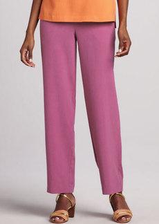 Go Silk Silk Ankle Pants, Petite