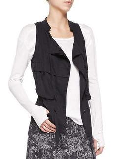 Go Silk Silk Cargo Drawstring Vest, Women's