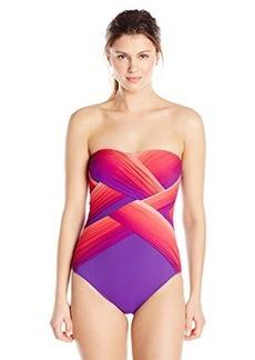 Gottex Women's Harmony Bandeau One Piece Swimsuit