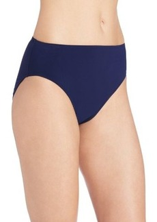 Gottex Women's Lattice High-Leg and High-Waist Bikini Bottom
