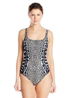Gottex Women's Savannah Square Neck One Piece Swimsuit