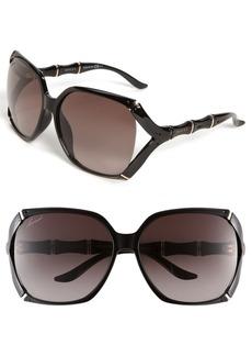 Gucci 58mm Oversized Sunglasses